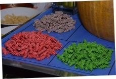 colourful pasta